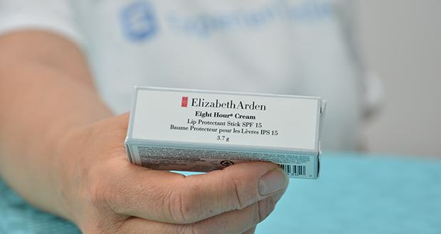 Elizabeth Arden Eight Hour Cream Lip Protectant Stick SPF 15 im Test - mit Vitamin E und Petrolatum