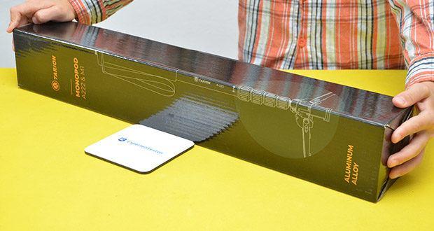 TARION A-222 Einbeinstativ im Test - Modellnummer: A-222; Typ: Einbeinstativ; Traglast: ca. 5-10 kg