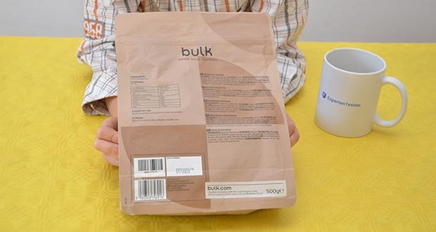Bulk Goji Beeren Getrocknet im Test - Zutaten: 100% Getrocknete Gojibeeren