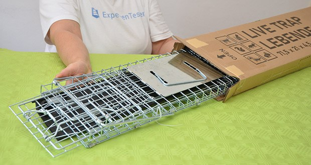 Elbe Lebendfalle MAF04 61x18x21cm im Test - ungiftig und harmlos, für Benutzer, Tier und Umwelt freundlich