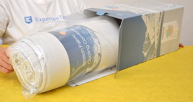Elegear Arc-Chill Sommerdecke Kühldecke im Test - natürliches Kühlgefühl
