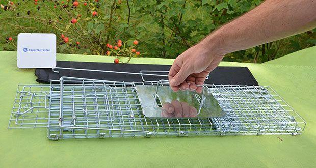 Elbe Lebendfalle MAF04 61x18x21cm im Test - gutes Material und Verarbeitung macht die Falle haltbar und langlebig