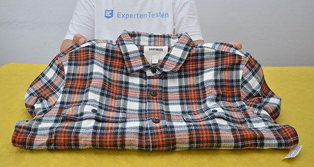 Goodthreads Herren-Flanelljacke im Test - Material: 100% Baumwolle