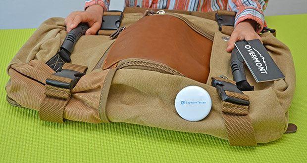 Overmont Vintage Wanderrucksack im Test - ergonomisches Design