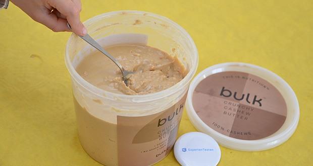 Bulk Cashewbutter Crunchy, 1 kg im Test - Quelle von Protein und Ballaststoffen