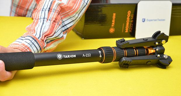 TARION A-222 Einbeinstativ im Test - Material: Aluminium