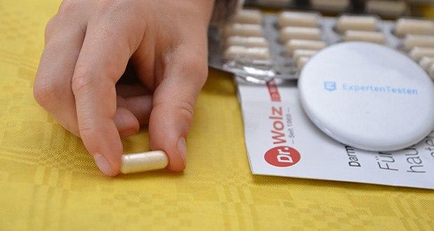 Dr. Wolz Darmflora plus select hochdosierte Bakterienkulturen im Test - 48 Milliarden Milchsäurebakterien pro Tagesportion