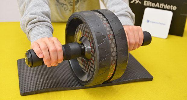 EliteAthlete Bauchtrainer schwarz im Test - hochwertiges und innovatives Design