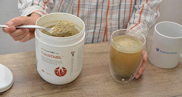 dr.reinwald vital ColoSTABIL Präbiotische Ballaststoffe im Test - unterstützt die Verdauung & das Darmmilieu