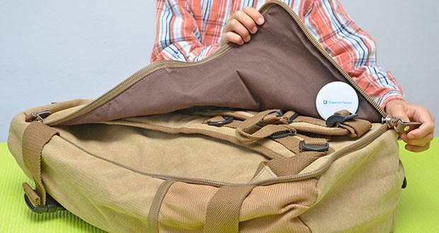 Overmont Vintage Wanderrucksack im Test - robust und bequem
