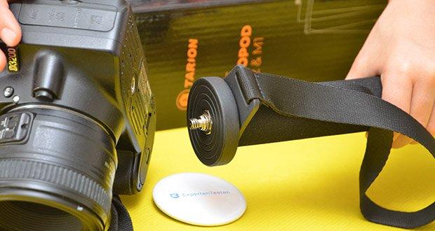 TARION A-222 Einbeinstativ im Test - ist kompatibel mit dem meisten DSLR, Mirrorless- oder Digitalkameras sowie 360°-Kameras