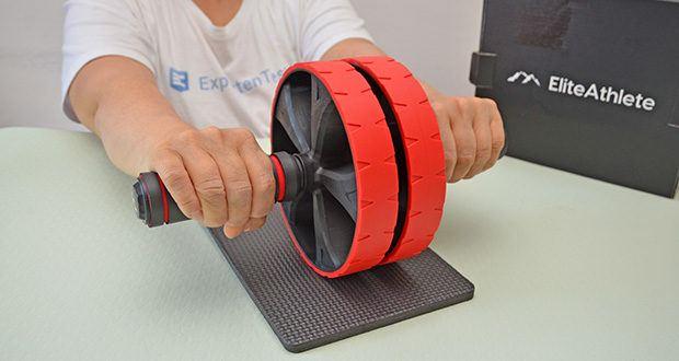 EliteAthlete Bauchtrainer rot im Test - hochwertiges und innovatives Design