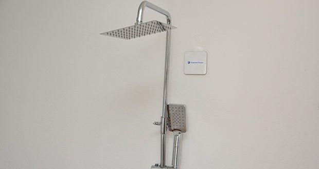 Elbe Duschsystem mit quadratischem Duschkopf im Test - für ein entspanntes Gefühl