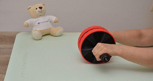 EliteAthlete Yogamatte im Test - eine speziell angefertigte Sport- und Übungsmatte, insbesondere für den Indoor- aber auch für den Outdoorbereich (z.B. als Isomatte)