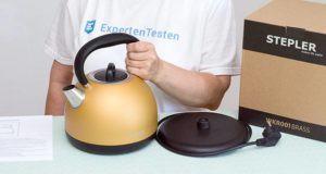 Welche Arten von Wasserkochern gibt es im Test?