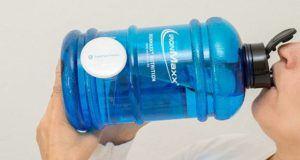 Wie schneidet die Trinkflasche von Everyday ab?