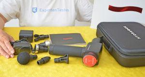Vorteile aus einem Massagepistolen Test bei ExpertenTesten