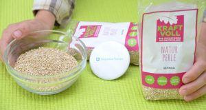Alle Zahlen und Daten aus einem Quinoa Test