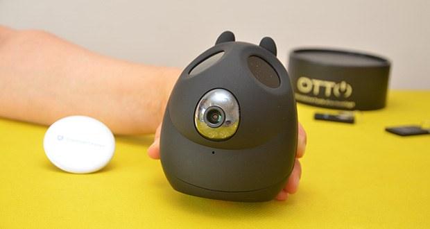Safe2Home Funk Alarmanlage OTTO im Test - verfügt über eine Bewegungserkennung in der Nase mit akustischem Alarm