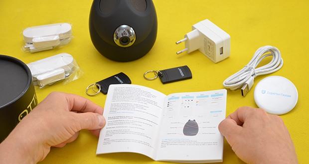 Safe2Home Funk Alarmanlage OTTO im Test - kann mit sämtlichen kompatiblen Sensoren (Türsensor, Bewegungsmelder, Rauchmelder u.v.m.) erweitert werden und ist somit für den Nutzer individuell erweiterbar