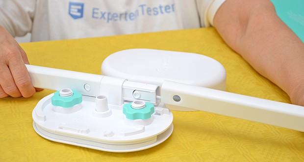 Cubo Ai Plus Smart Babyphone im Test - Kinderbetthalterung für zusätzliche Stabilität am Kinderbett