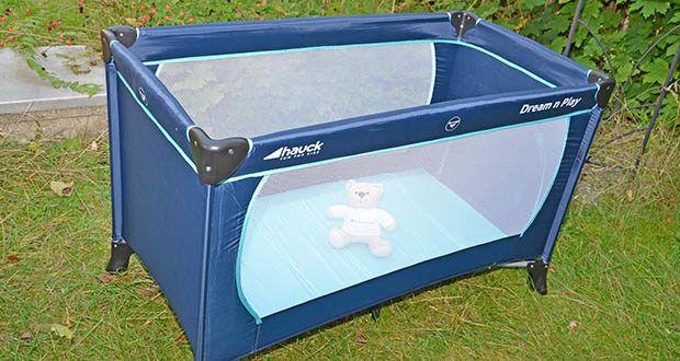 Hauck Babyreisebett Dream N Play Plus im Test - in diesem Bettchen können Sie Ihr Baby beruhigt schlafen oder spielen lassen