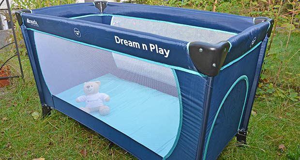 Hauck Babyreisebett Dream N Play Plus im Test - ist ein praktischer Begleiter auf Reisen oder im Urlaub