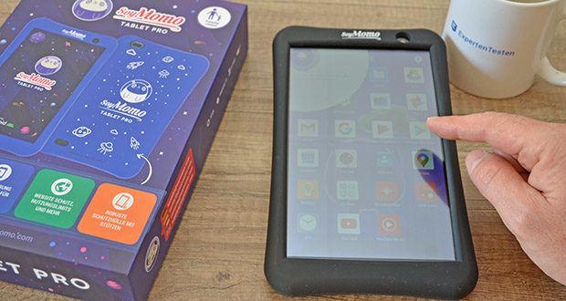 SoyMomo Tablet Pro im Test - Kinder können alle Apps aus dem Google Play Store herunterladen, z. B. Netflix, Youtube Kids, Roblox, und immer auf die neuesten Apps zugreifen