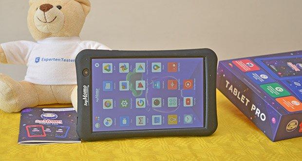 SoyMomo Tablet Pro im Test - mit dem Tablet können Zeiten konfiguriert werden, zu denen die Kinder das Tablet Pro verwenden dürfen